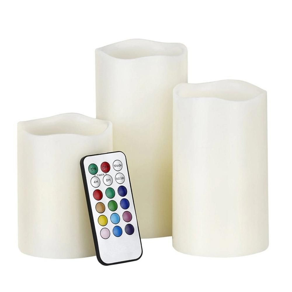 Great American Sales Luma Candles Color-Changing Flameless