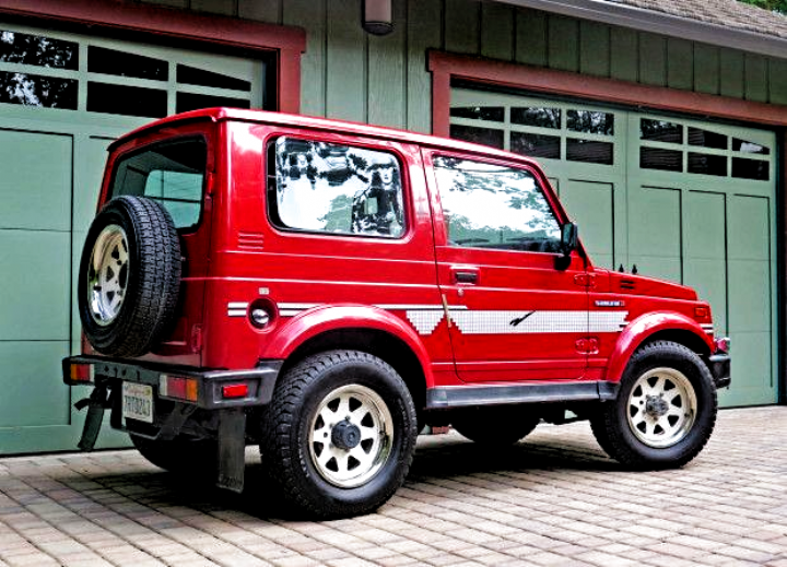 1986 Suzuki Samurai Jx For Sale On Bat Auctions Sold For 8 250