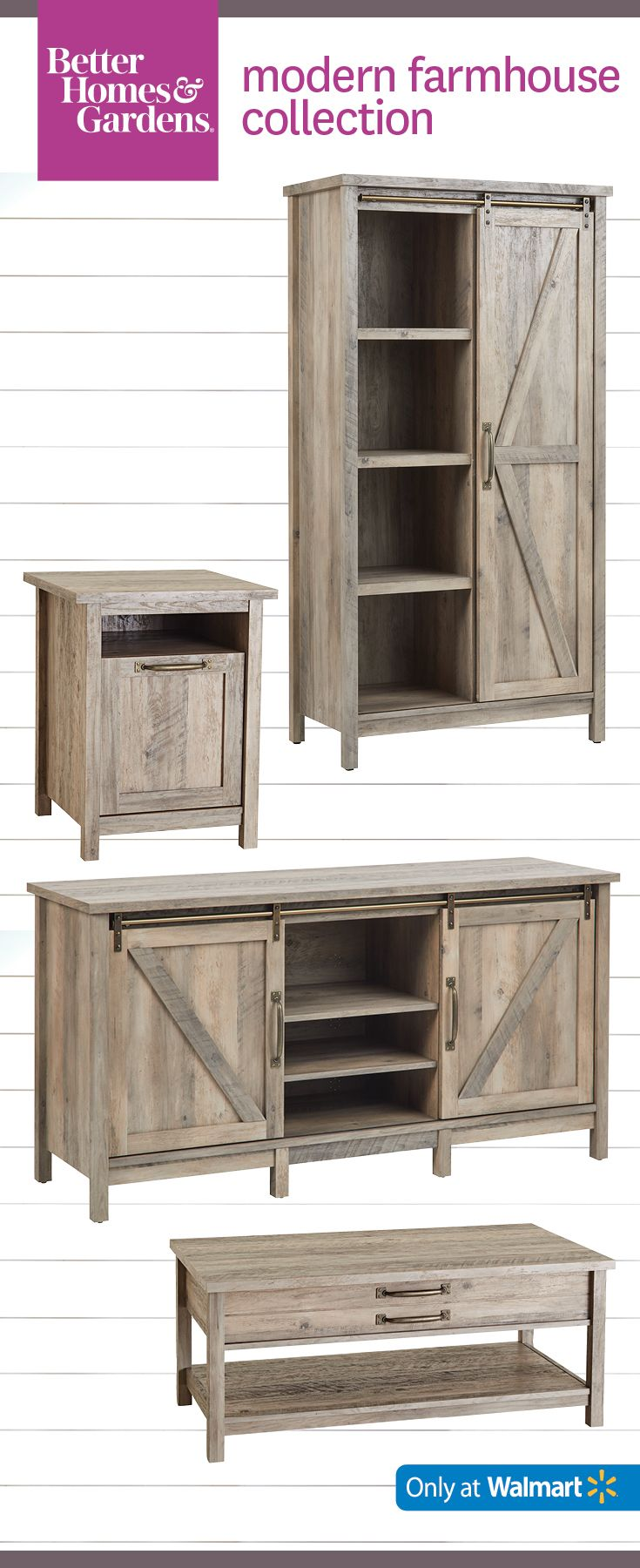 Muebles De Madera En Walmart Modern Farmhouse Is This Spring S Top Trend Shop The Bhg Modern