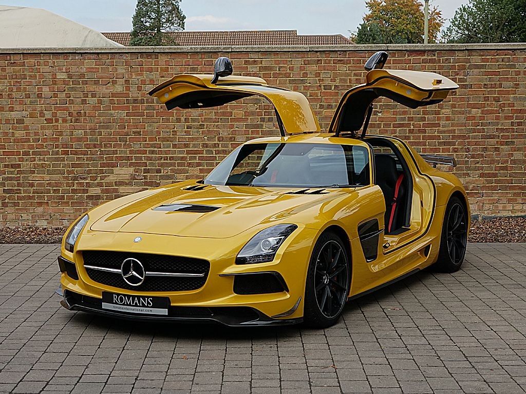 romans are proud to offer this sensational 2014 63 mercedes sls amg black series for sale. Black Bedroom Furniture Sets. Home Design Ideas