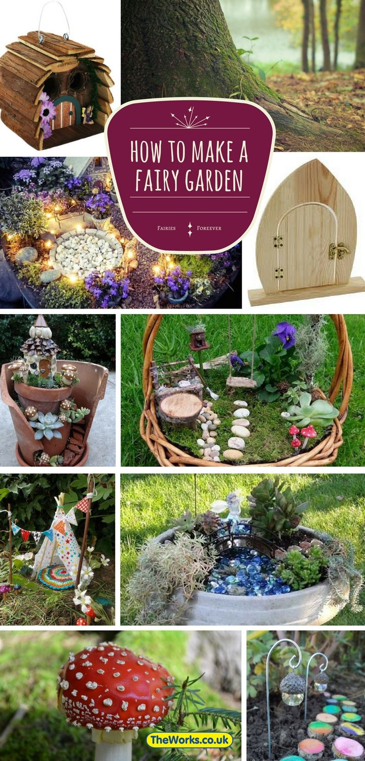 How to create your own fairy garden or fairy house everything you need to know including for How to make a fairy garden accessories
