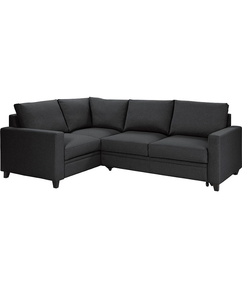 Buy Argos Home Seattle Left Corner Fabric Sofa Bed Charcoal Sofa Beds Fabric Sofa Bed Corner Sofa Bed Small Sofa Bed