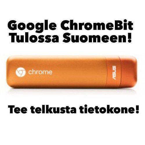 Kyllä! Huhumylly jauhaa tietoa että 85$ maksava ChromeOS tietokone tulee tikkumuodossa pian myös Suomen markkinoill https://t.co/KlYN0FQlZP