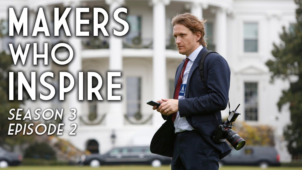 Ben Baker Photographing the World's Most Powerful People