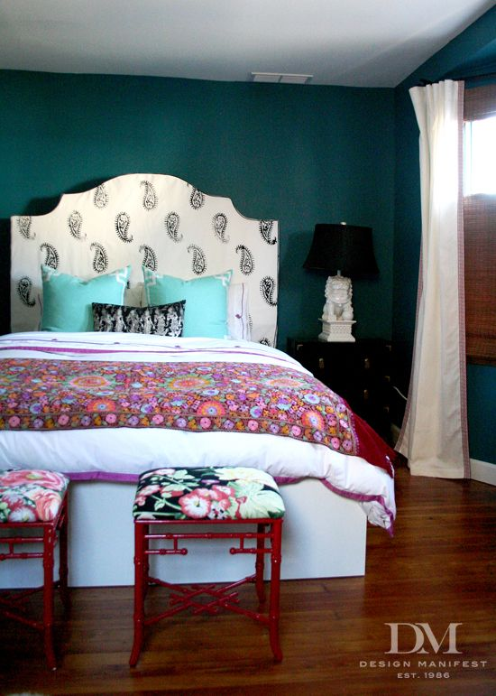 "Bohemian Chic Bedroom design manifest's ""preppy bohemian"" bedroom 