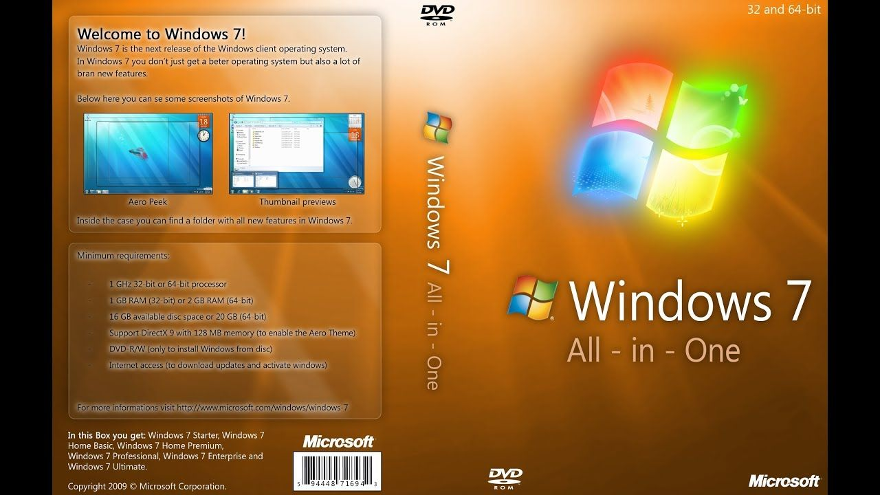 Download Windows 7 All in One Download Windows 7 All in One March
