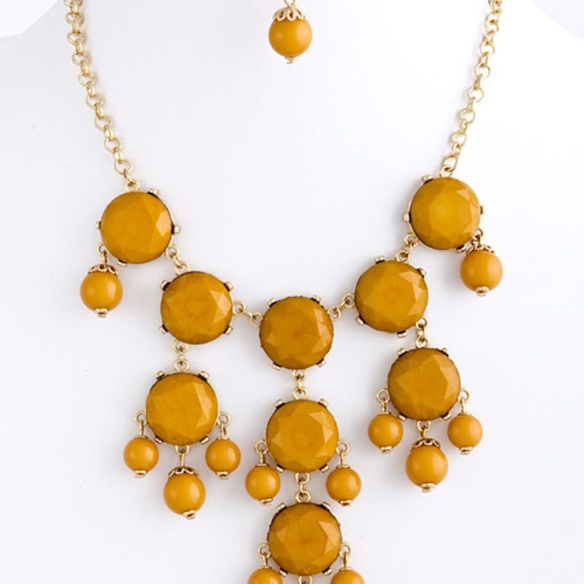 Goldenrod.  Available now at gaudygirls.com!