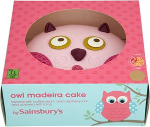 Get The Best Offers On Sainsburys Owl Madeira Birthday Cake 790g