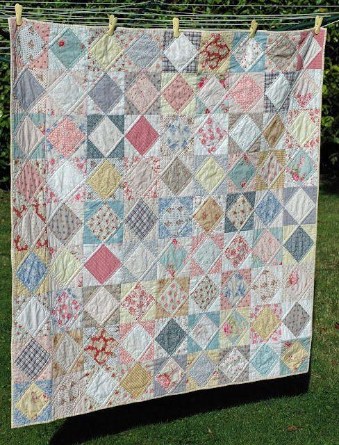 Deux finis Quilts: Serendipity de Patch