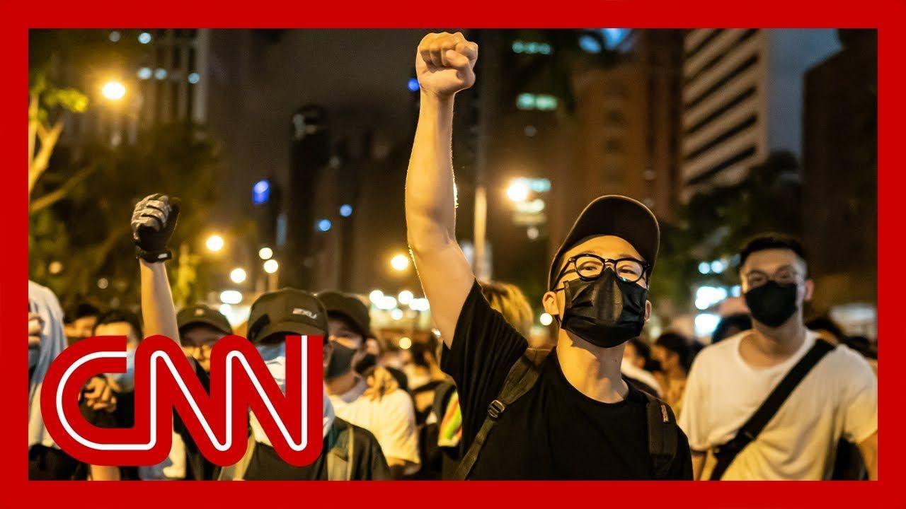 China blames US for massive Hong Kong protest YouTube