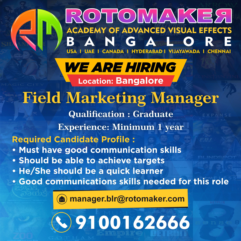We Re Hiring Field Marketing Manager Field Marketing Good Communication Skills Marketing Manager