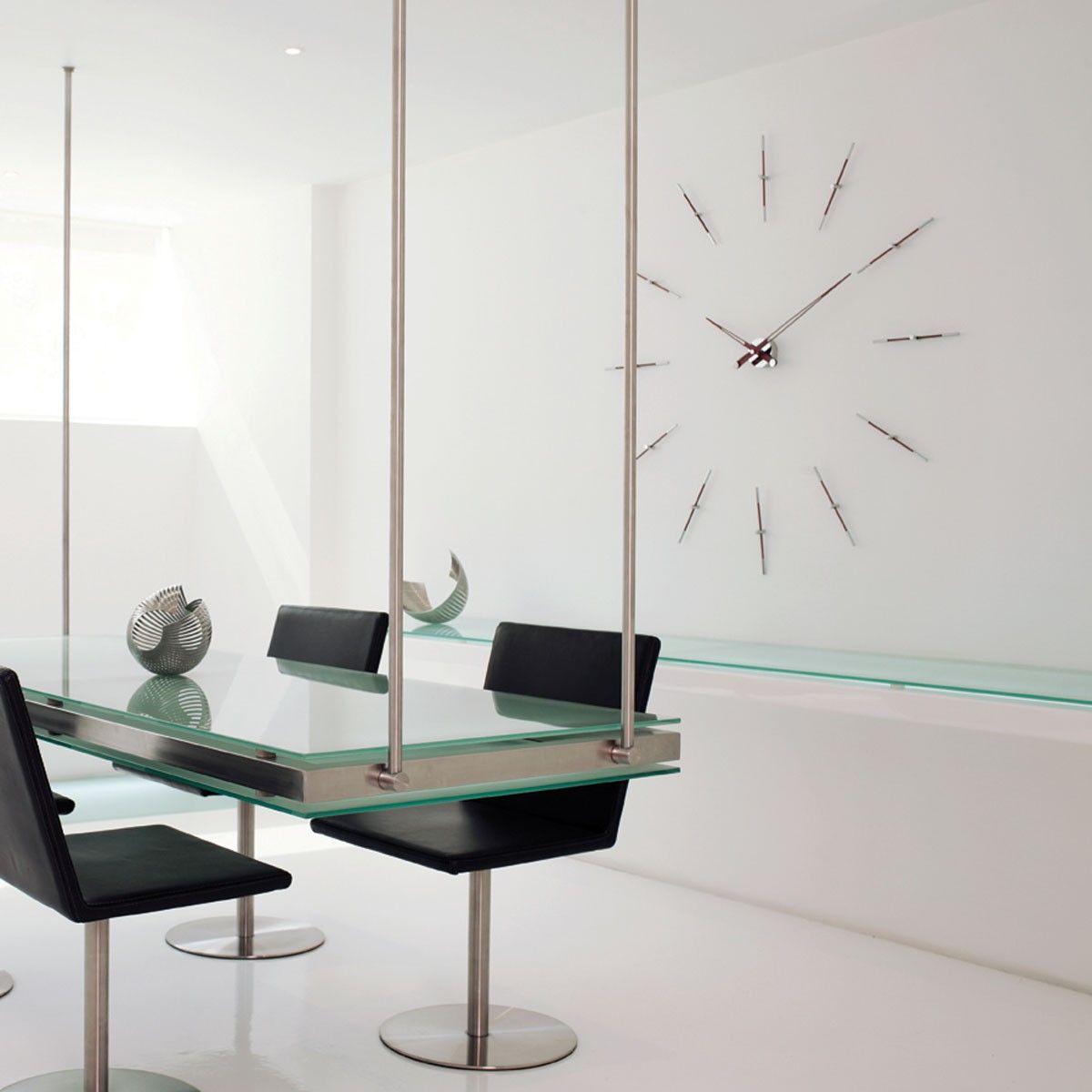 Mel 12 N Gold Wall Clock Modern Kitchen Clocks Modern Kitchen Wall Clocks Home