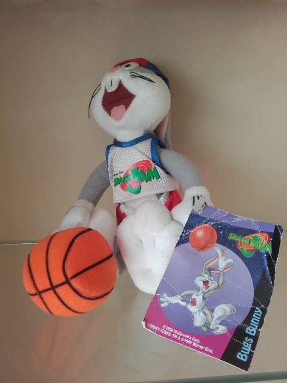 Bugs Bunny From Space Jam Movie Soft Toy Plushies Pillows Toys