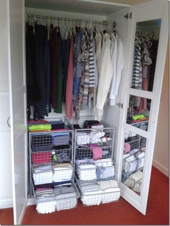 Organizing Closet Space organize in less space | house ideas | pinterest | organizing