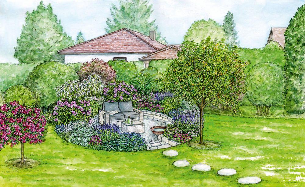 5 Gestaltungslosungen Fur Schwierige Gartenecken Gartenecke Sitzecken Garten Garten
