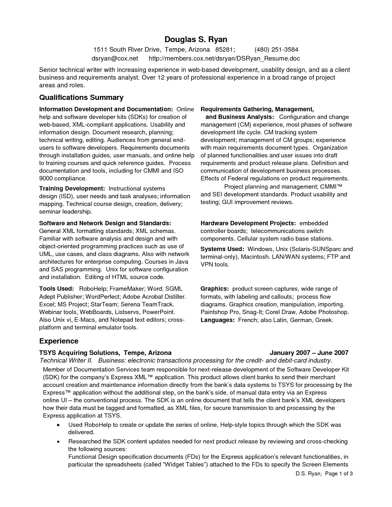 Analyst Resume Samples For Quality Assurance Mobile Apps Data