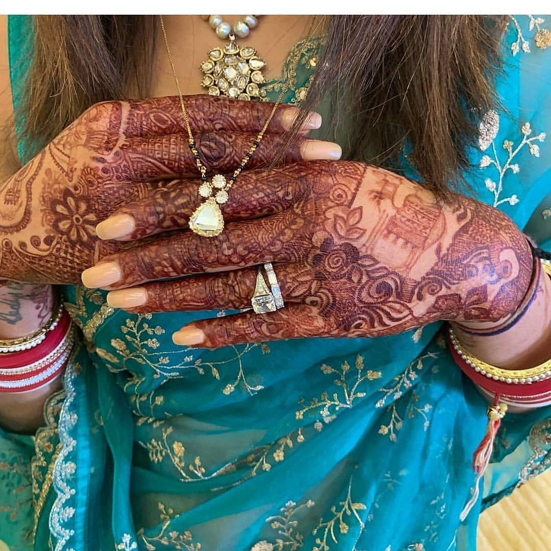 Priyanka Chopra S Mangalsutra Is As Royal As Her Engagement Ring