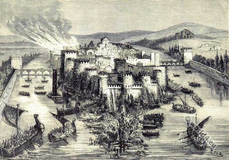 Image result for 845 vikings paris siege