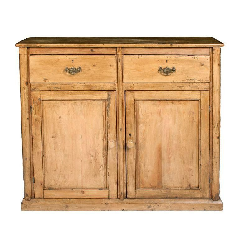 Traditional French Pine Buffet