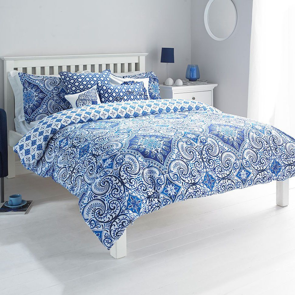 Better Homes And Gardens Indigo Paisley Comforter Set