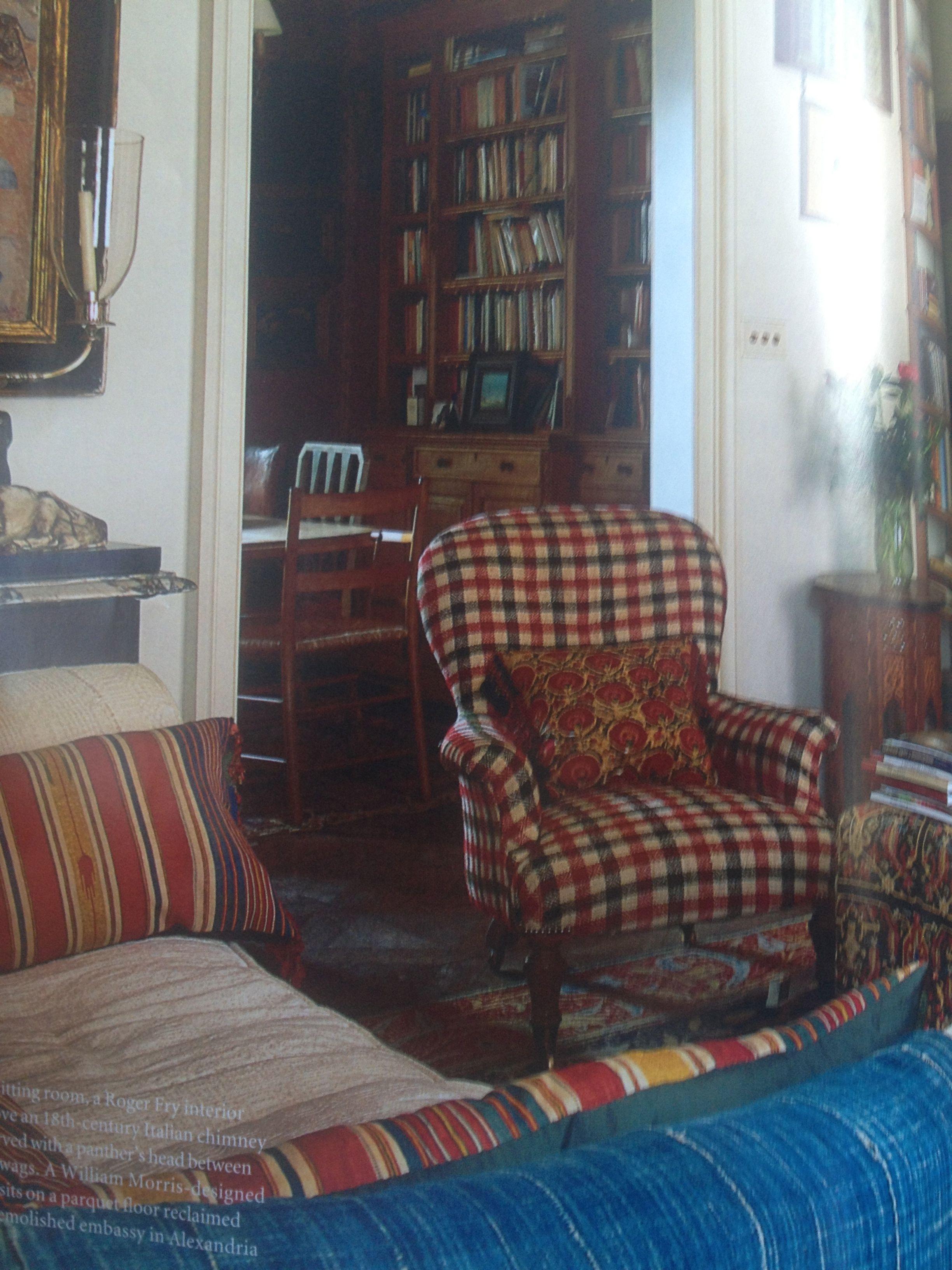 Robert kime 39 s house in london arredamento e veranda for Interni colorati casa