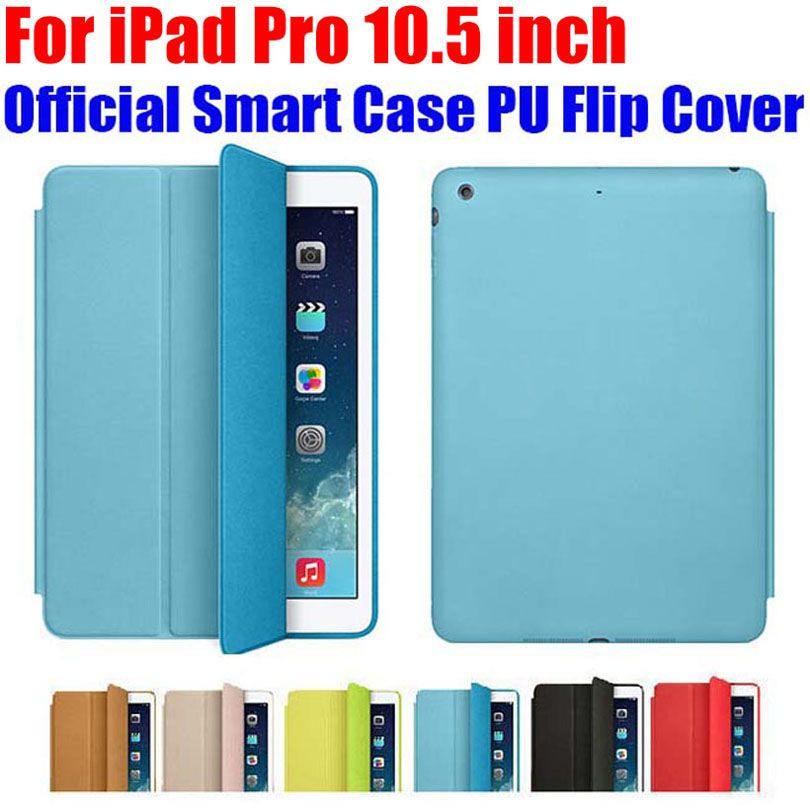 Official Design Smart Case For Apple Ipad Pro 10 5 Inch Ultra Thin Pu Leather Flip Cover For Ipad Pro Iprs9 Smart Case Apple Ipad Case Ipad Pro
