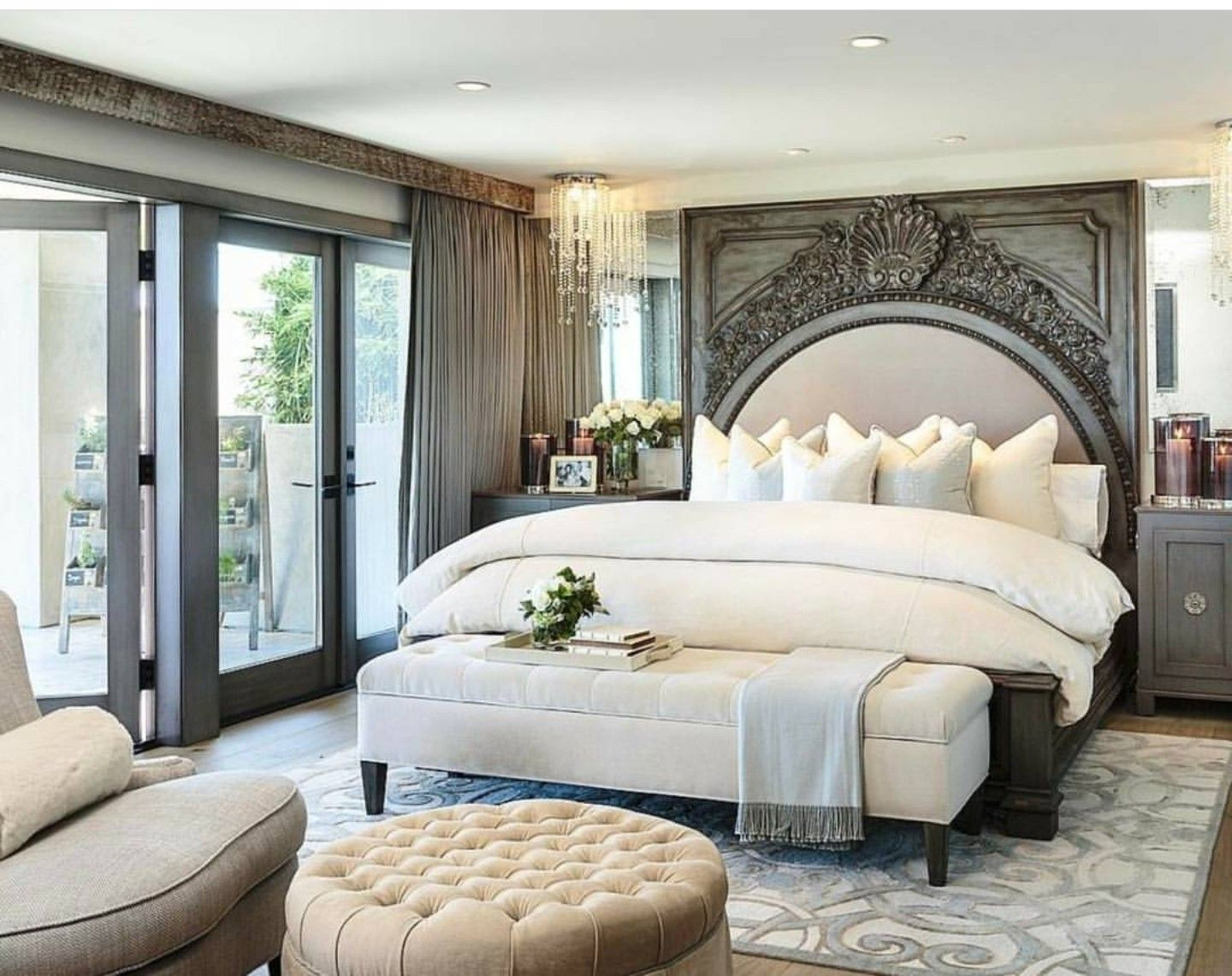 Luxurious bedrooms image by Kimberly Hoffer on Home