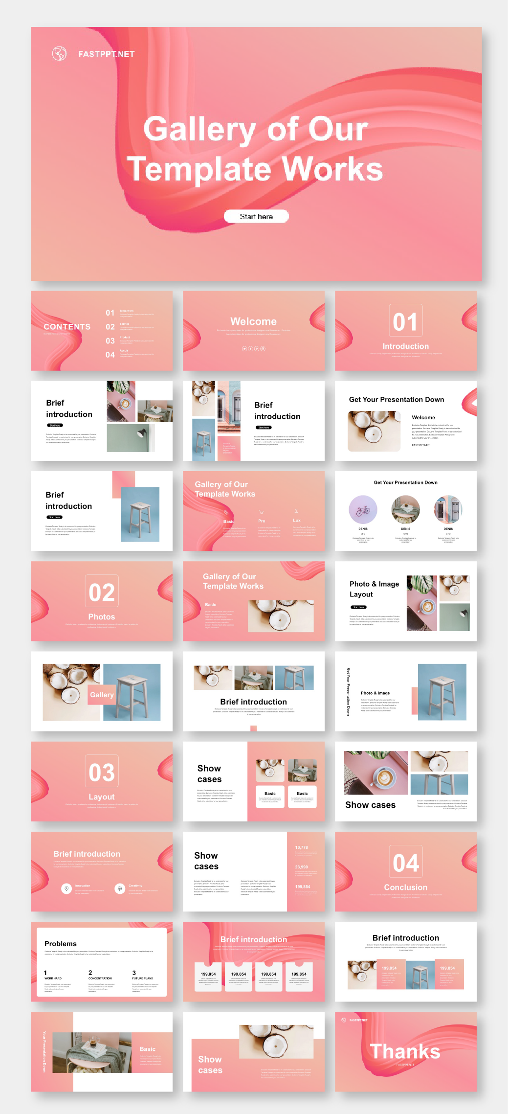 Business Plan & Multipurpose Presentation Template – Original and high quality PowerPoint Templates download