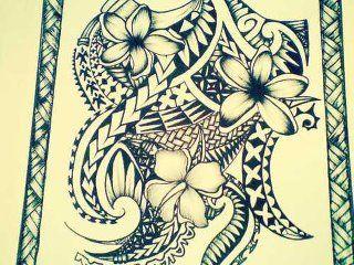 942cb1bd1 Polynesian drawing for a tattoo #polynesian #tattoo #samoan #tattoo ...