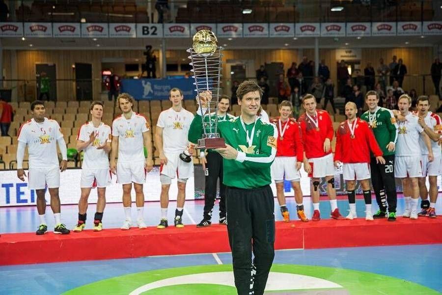 Danmark Vinder Golden League Turneringen Med En Finalesejr Pa 32 24 Over Island Foto Jan Sommer Handbold