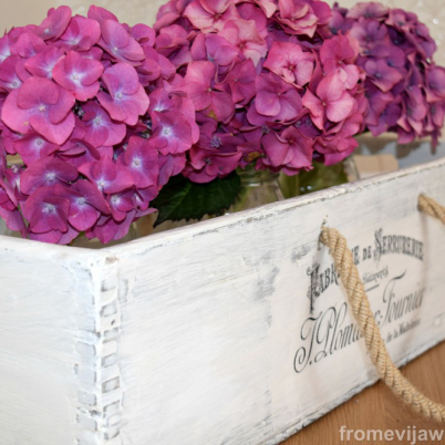 French Inspired Box Makeover