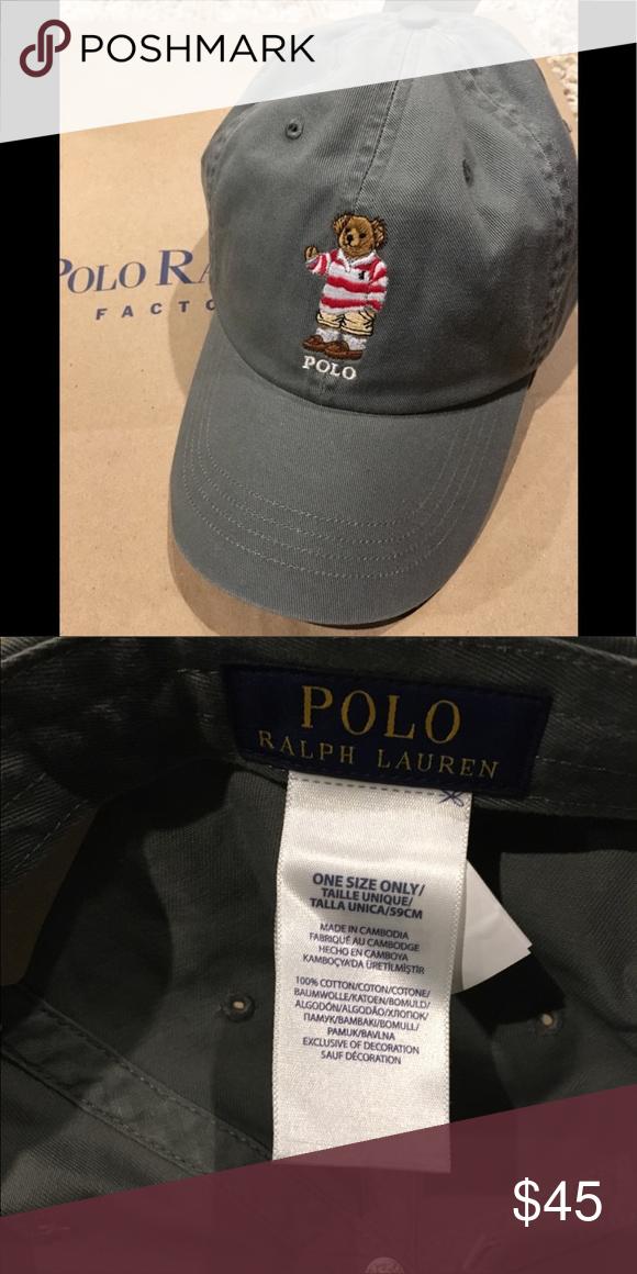 Polo Bear By Ralph Lauren Polo Hat New Polo Ball Never