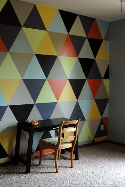 Fabulous Wall Wall Paint Designs Geometric Wall Geometric Wall Art
