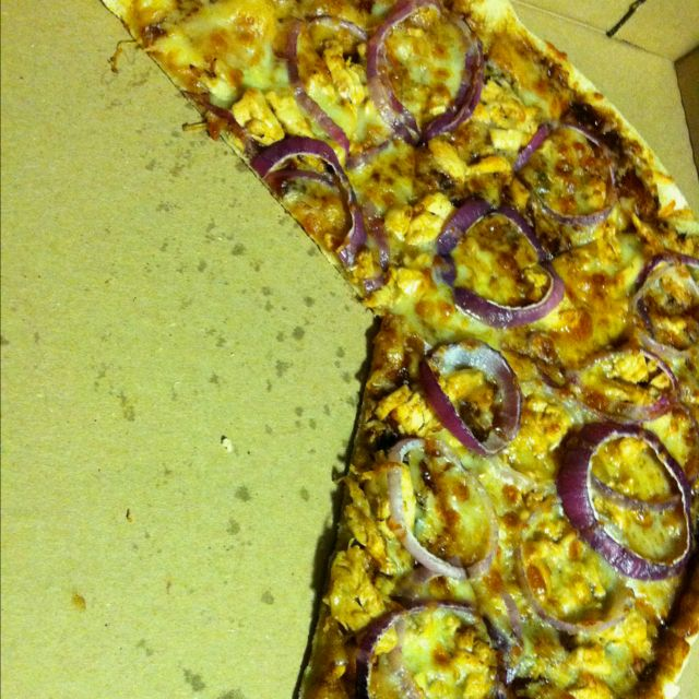 Bbq Chicken Pizza From Pie Works Greensboro Nc Phenomenal Food Food For Thought Bbq Chicken Pizza