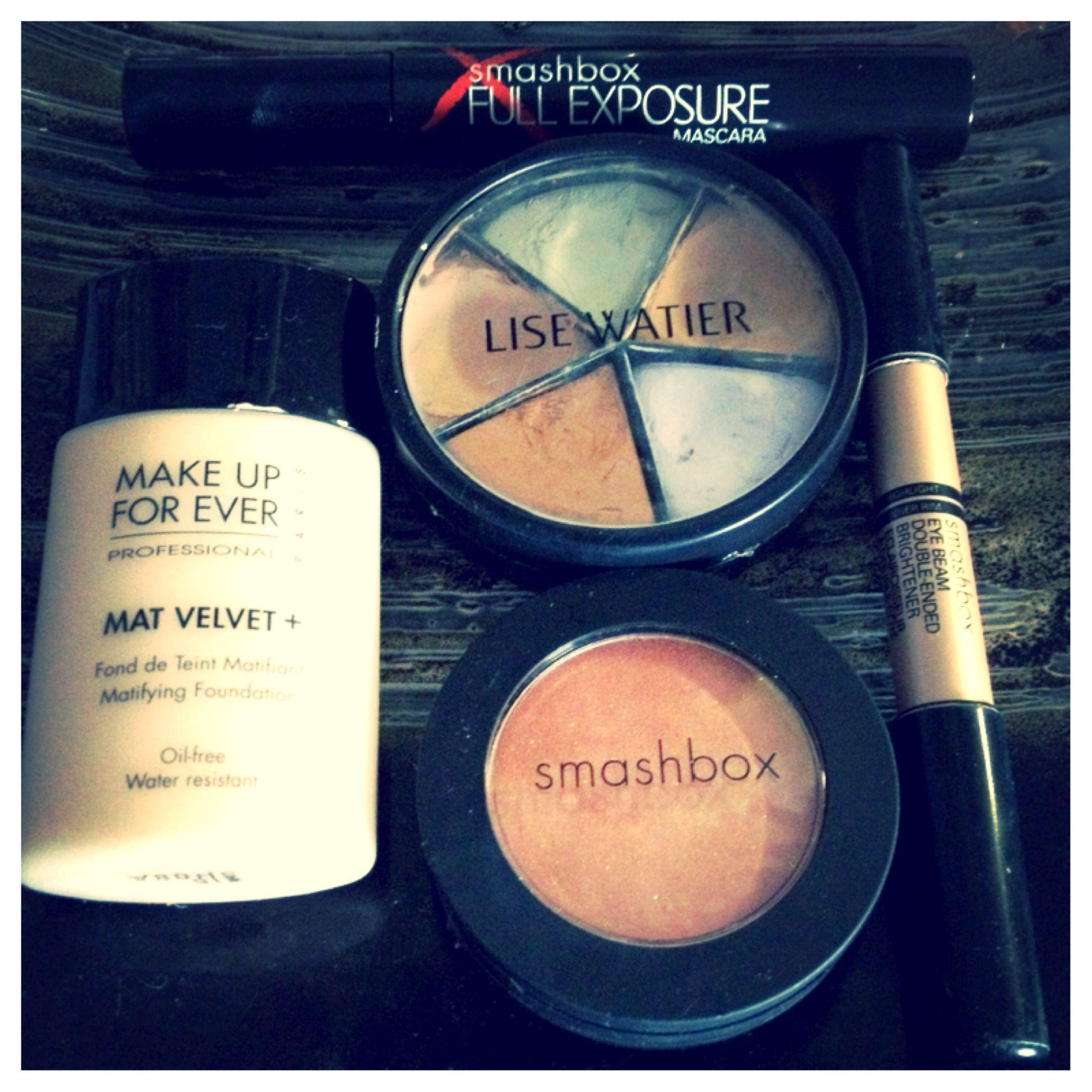 Beauty basics • foundation, concealer, blush, and