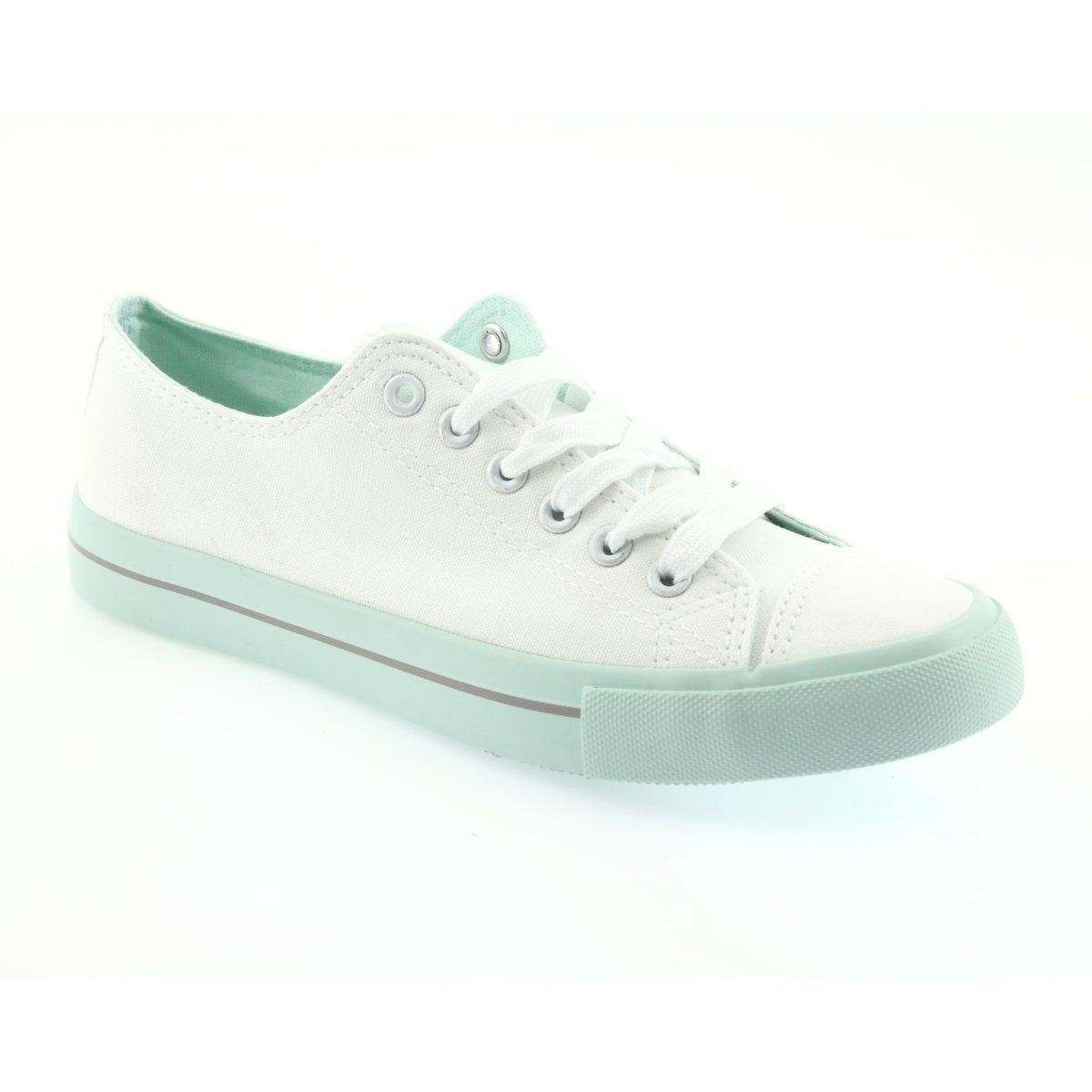 Atletico Sneakers White Green Sneakers Trainers Women Womens Sneakers