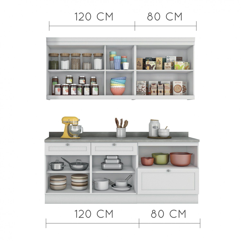Cozinha Americana Compacta Com Balc O E Tampo 4 Pe As Nesher M Veis