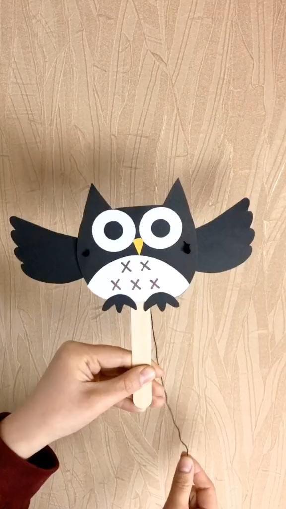 Photo of Easy DIY Craft for Kidds-Paper Plate Owl Sooo Cute!