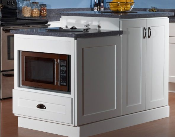 Dakota White Rta Kitchen Cabinets: *Microwave Base Cab! Dover White Shaker RTA Cabinet By JSI