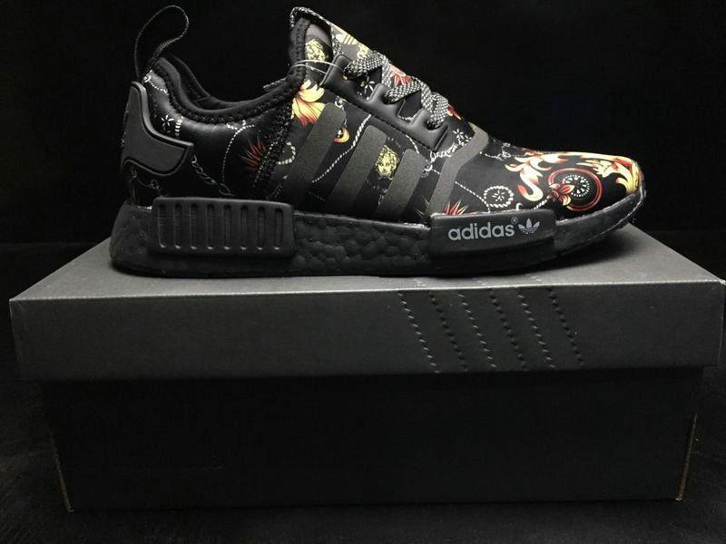 4fdd58a5e Authentic 2018 Men Givenchy x Adidas NMD R1 Black BA7266