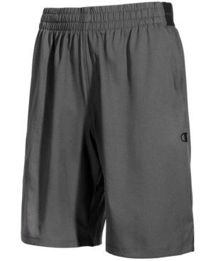 Champion Men's Hybrid Woven Shorts - Gray 2XL