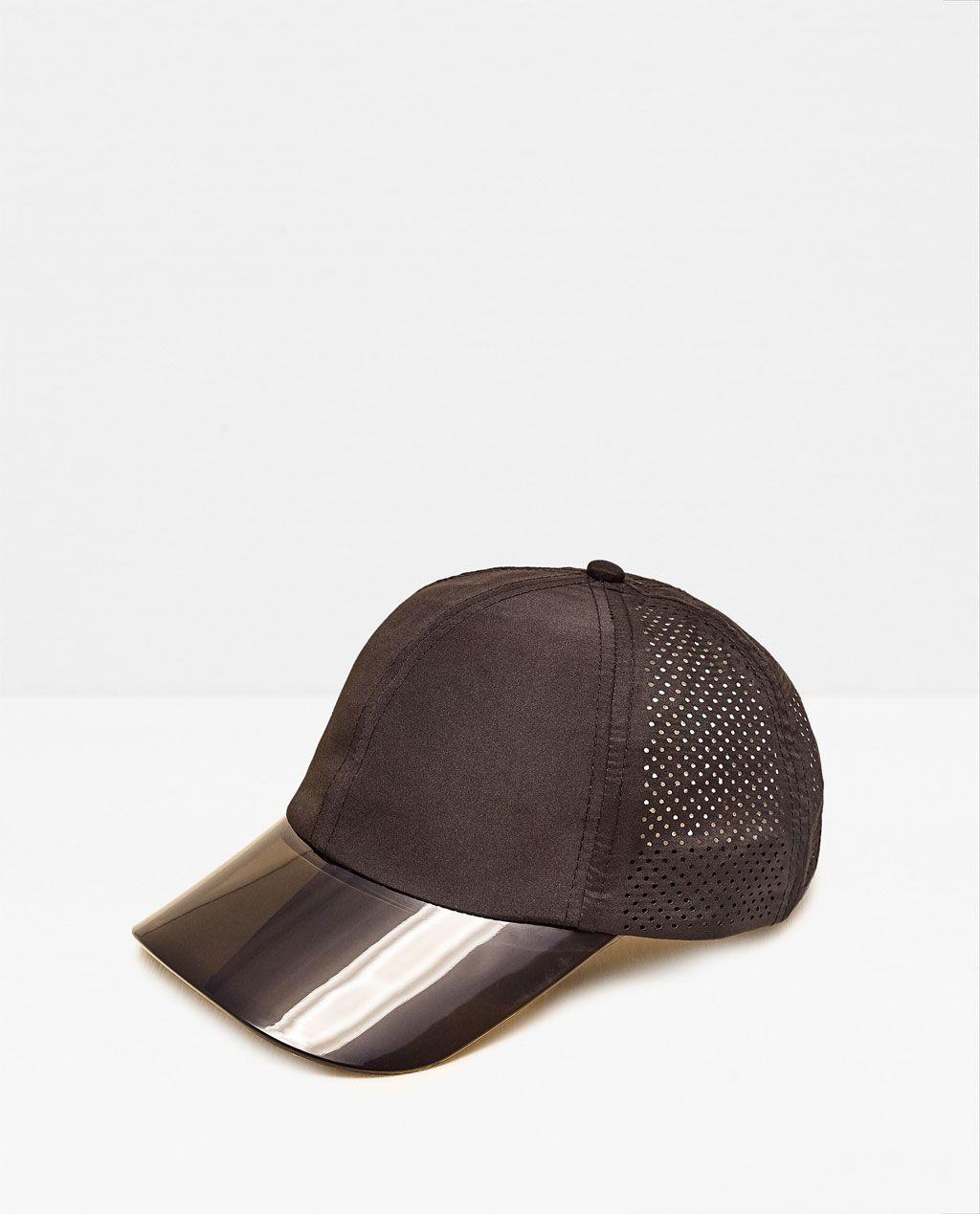 df2c5c67 SEMI-TRANSPARENT SPORTY CAP WITH VISOR-View all-GYMWEAR-WOMAN | ZARA United  States
