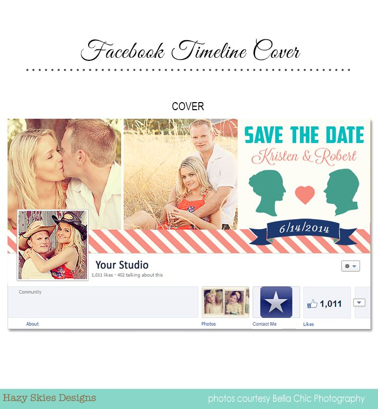 save the date facebook timeline cover for photographers