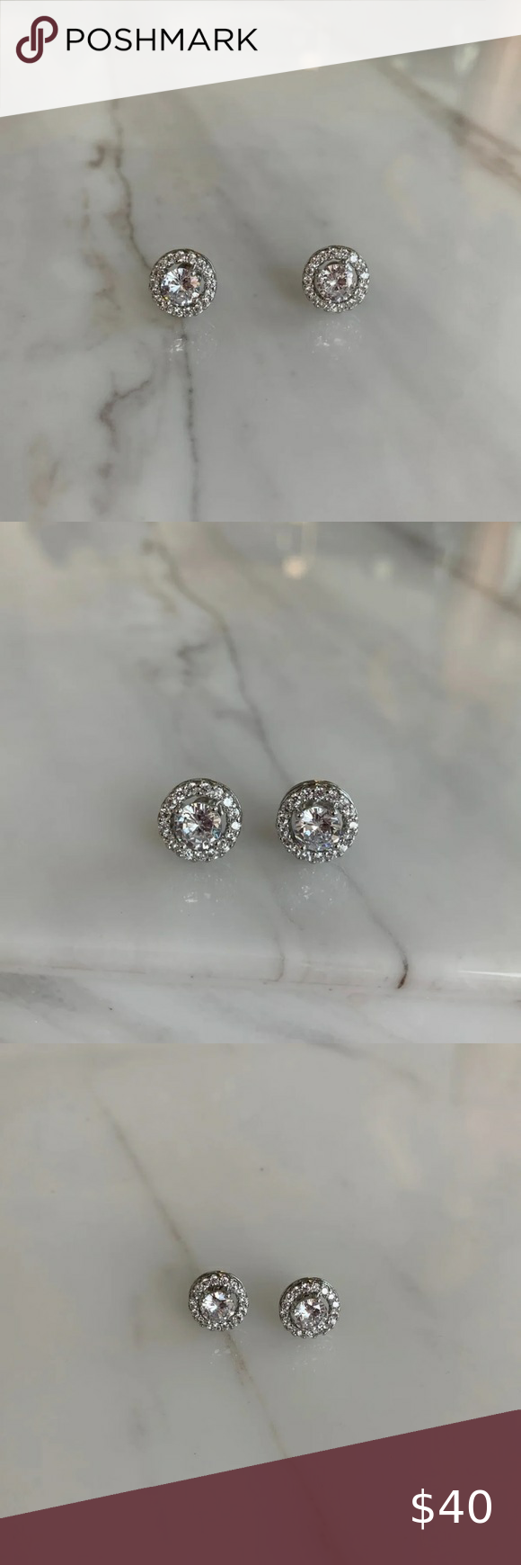 Gorgeous Classy Circle Stud Earrings