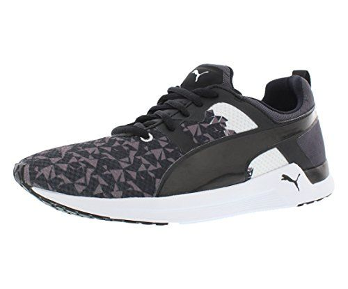 PUMA Womens Pulse XT Graphic Womens Training Shoe Periscope/White 5.5 B US  Review https