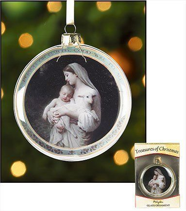 Peace on Earth, Good Will to All Glass Ornament, (Set of 2)  http://www.amazon.com/dp/B008UTAMR4/ref=cm_sw_r_pi_dp_RKNiqb0XFQ777 $24.74