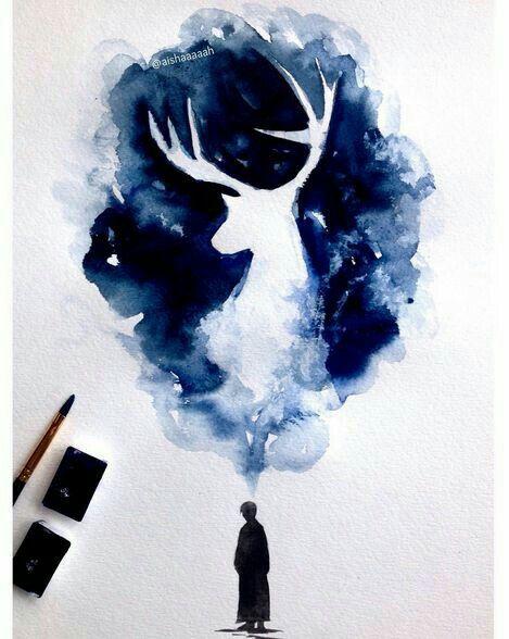 Pin Von Bluen Auf Dream Zeichnungen Wasserfarben Kunst Und