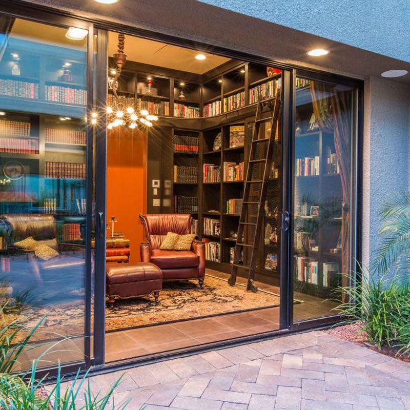 5 Vegas Homes With Libraries You Need to See Las vegas