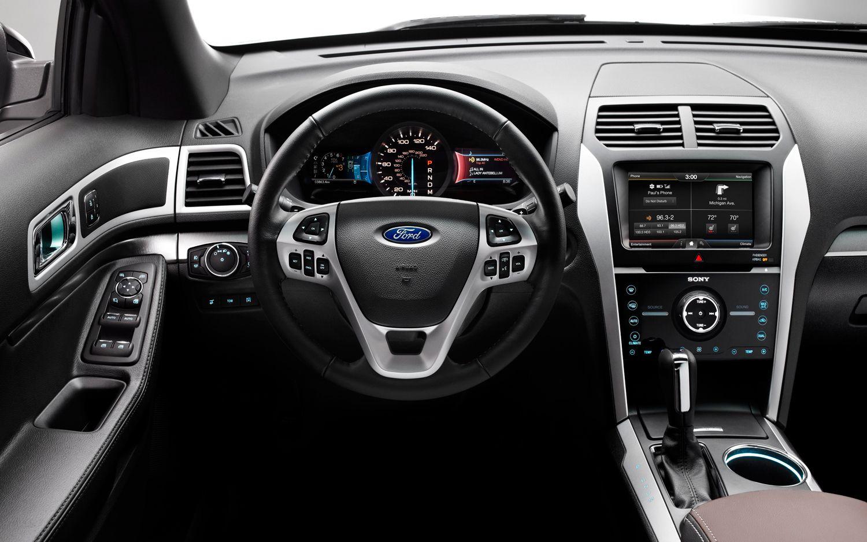 New Ford Explorer 2012