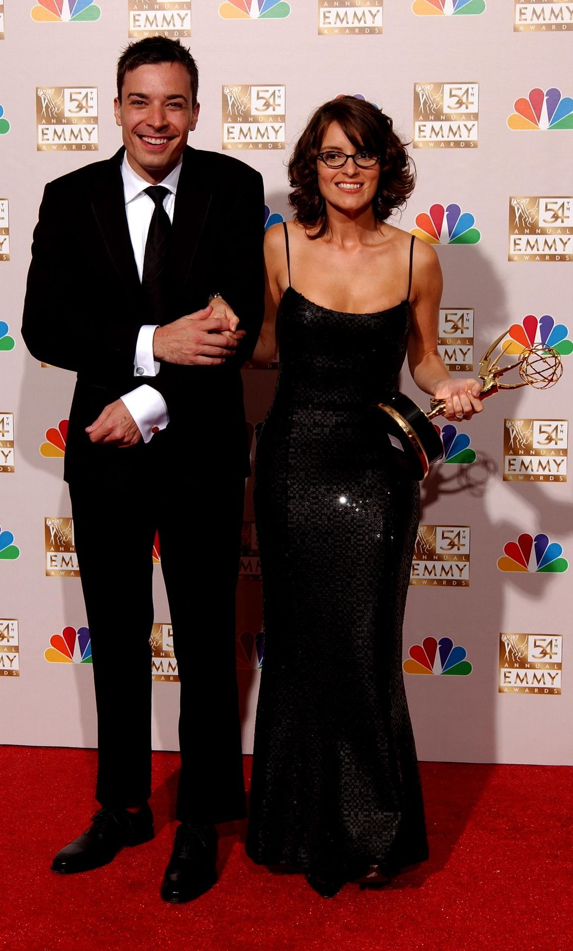 jimmy fallon pictures of his family | jimmy fallon 2012 emmys